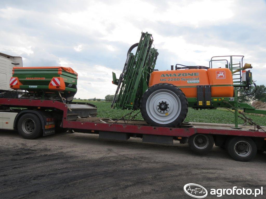 Amazone UG 2200 Special & ZA-M 15001 Profis