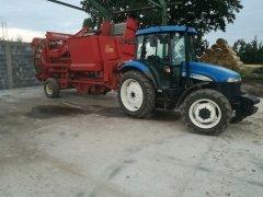 New Holland TD5020 & Grimme HL 750