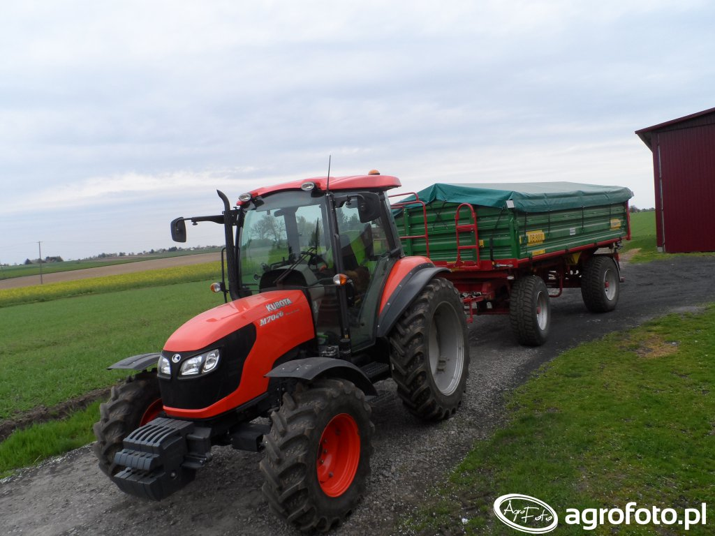 Kubota M7040 & Metal Tech DB8000