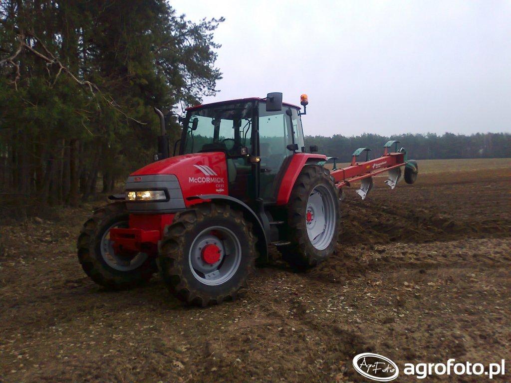 McCormick CX95, Kverneland AB100
