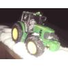 John Deere 6930 Premium i pług śnieżny