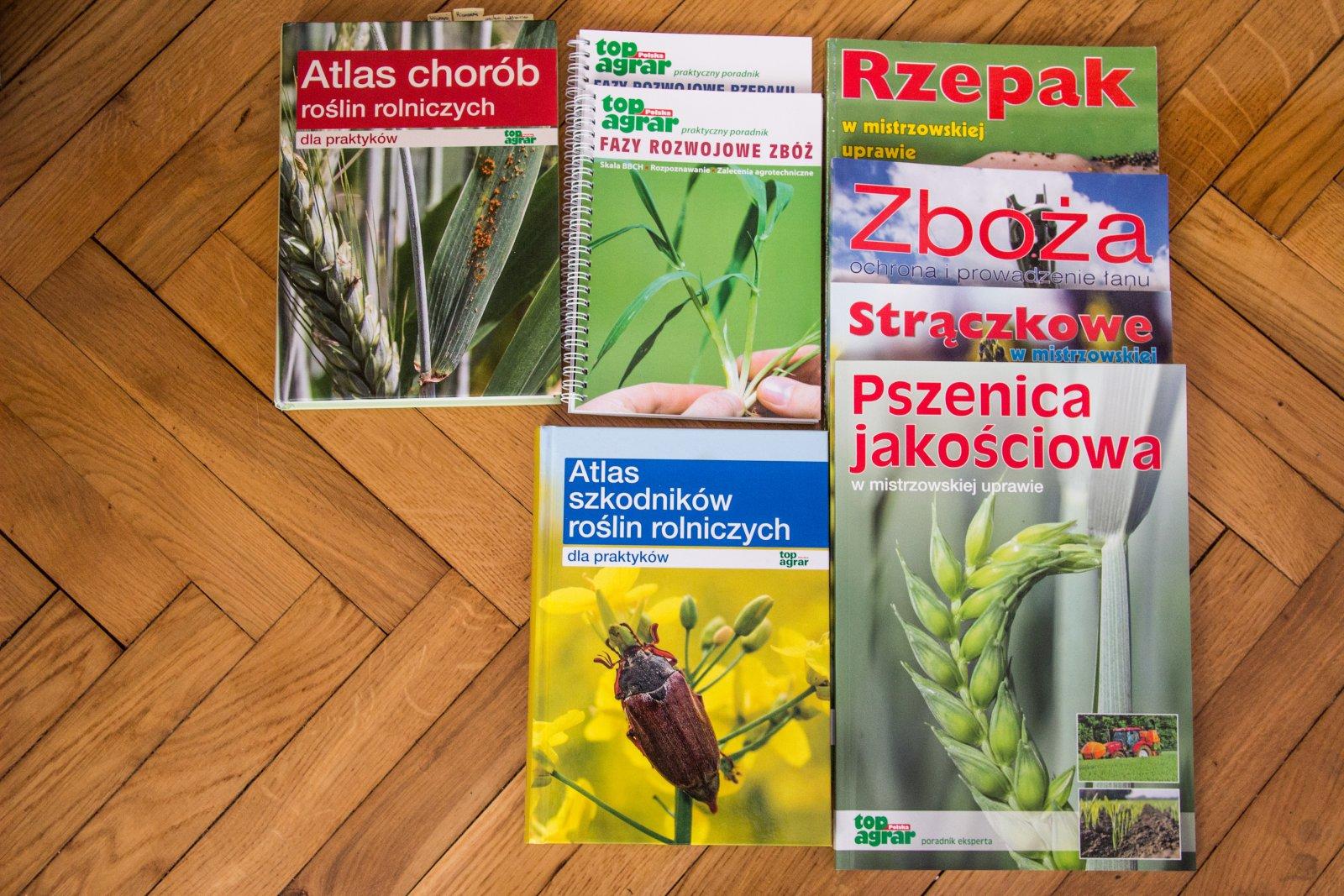 Atlasy i poradniki Top Agrar