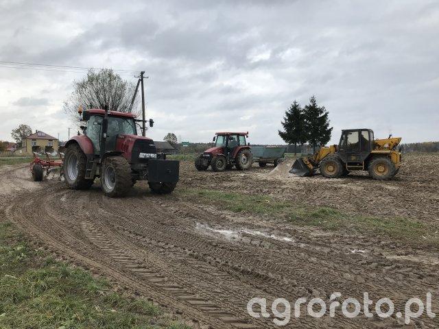 Case Puma 155 + Gregoire Besson  | Case JX90U + RCW | JCB 525-58