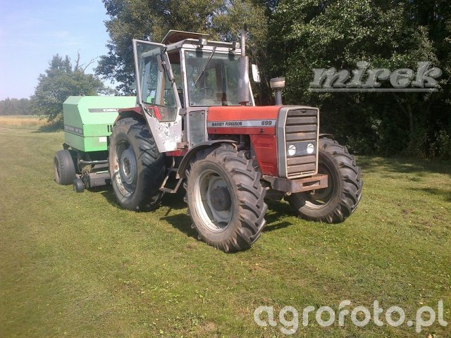 Massey Ferguson 699+Deutz Fahr MP 130
