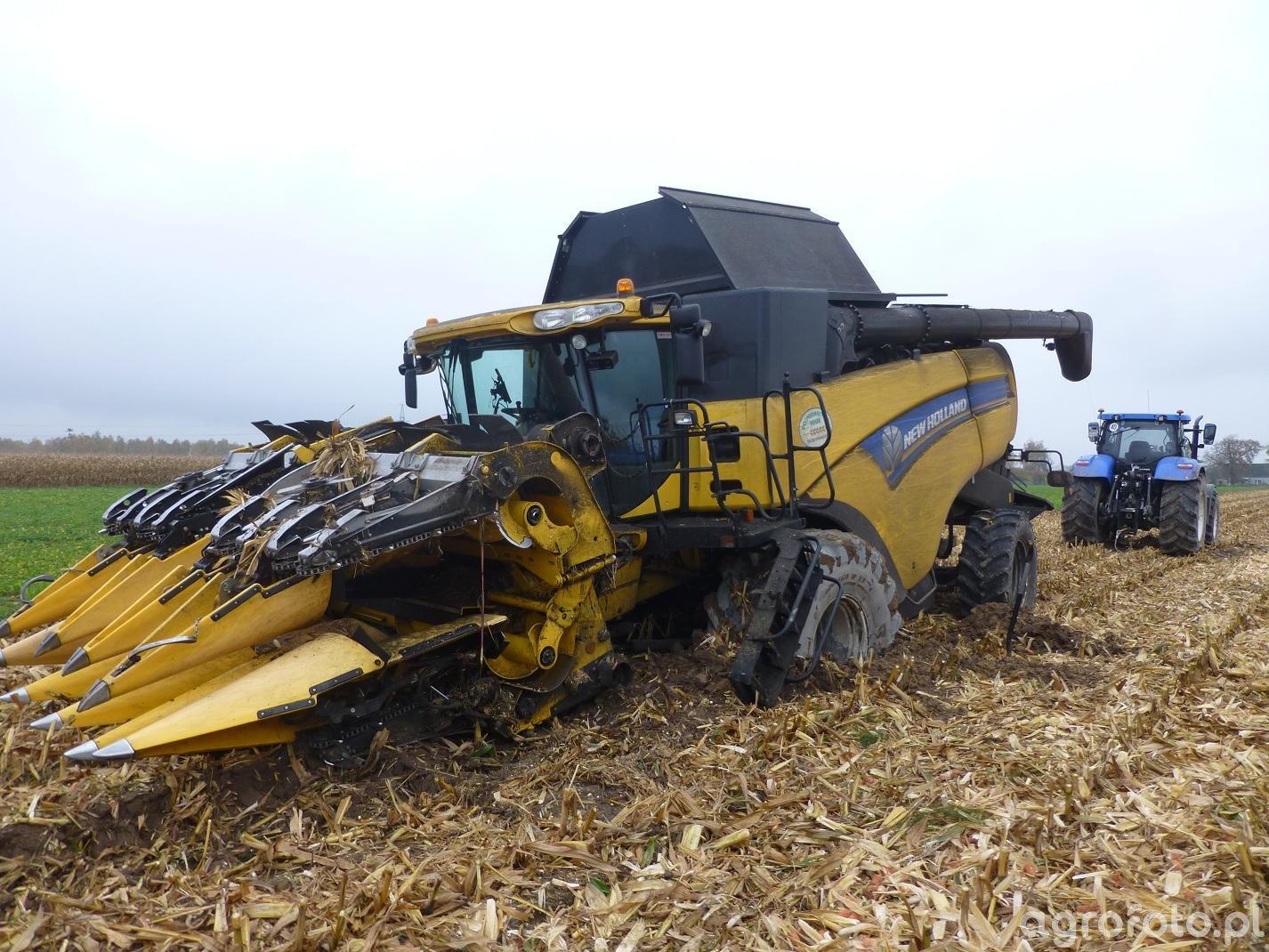 New Holland CX8090 i T7.270