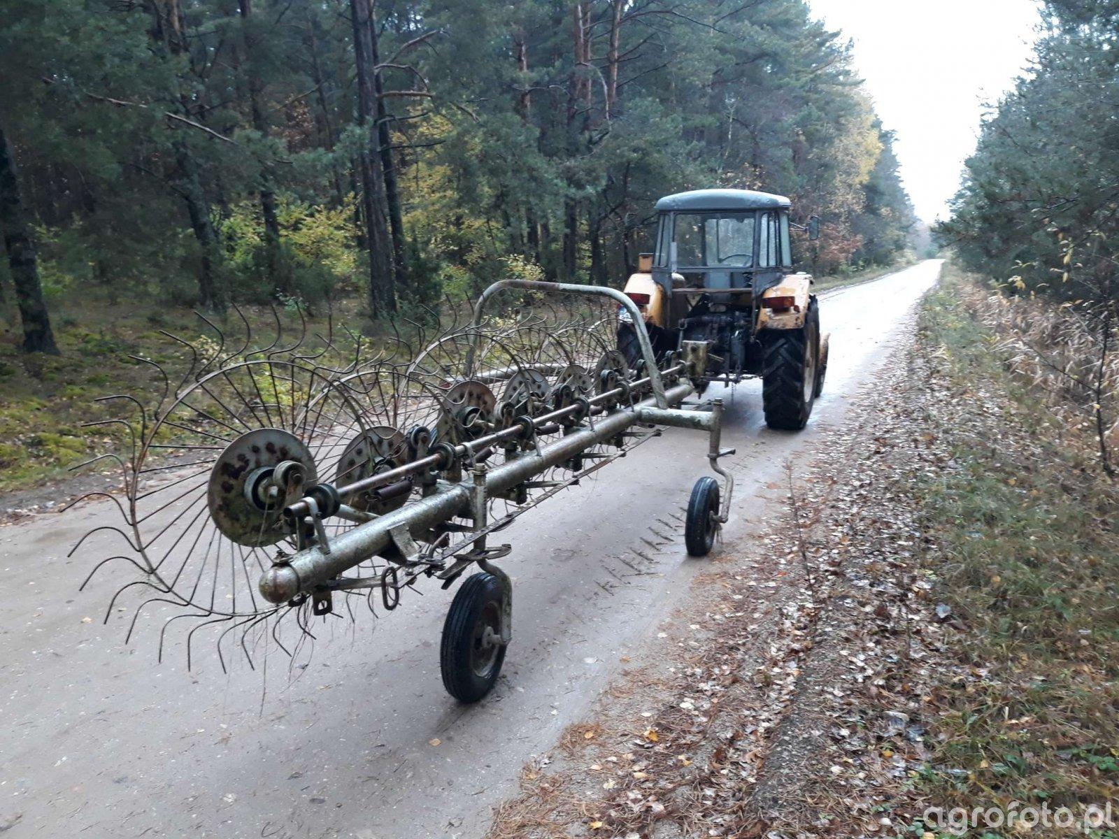Ursus C-355 + Zgrabiarka