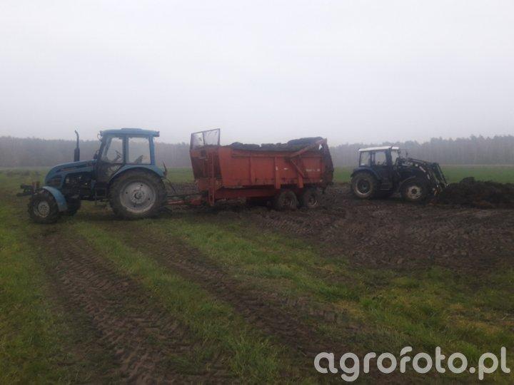 Pronar 82A+Gilibert 10T + Farmtrac 675DT
