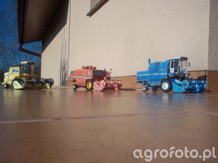 Bizon REKORD Z058 ,Massey Ferguson 530 , New Holland TC 54 Bizon