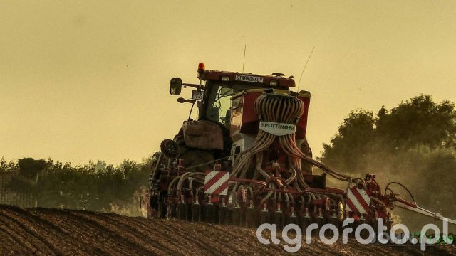 Case puma 185 & pottinger terrasem c4