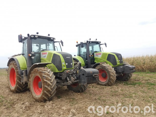 Claas Axion 810  cebis x2