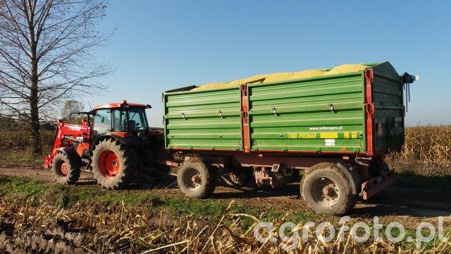 KUBOTA M9960 PRONAR T680