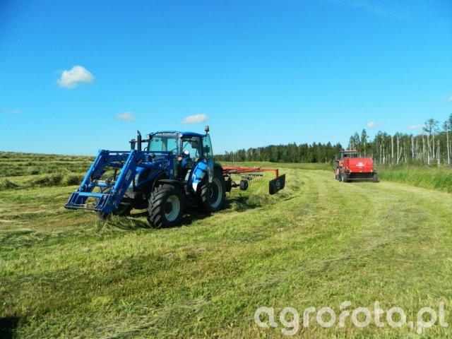 New Holland T5.105 DC / Ursus 912 / Feraboli