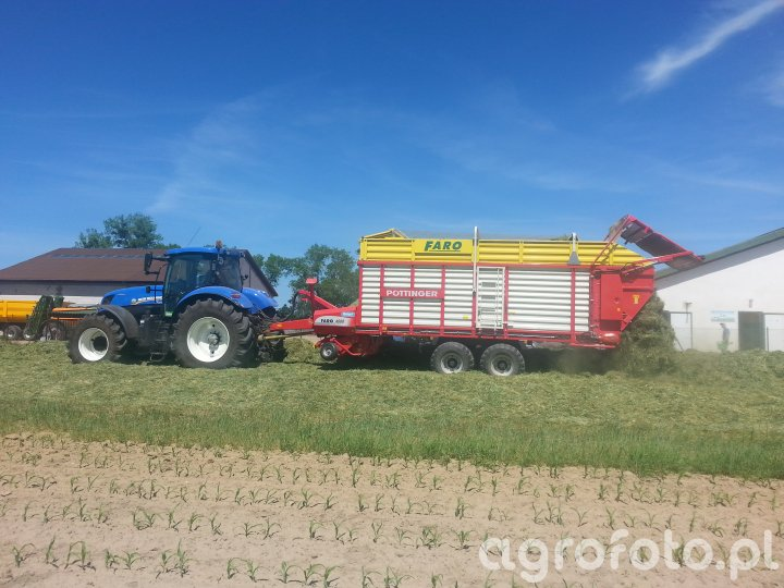 New Holland T7.220 + Faro