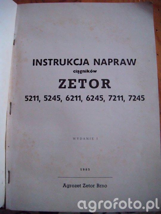 Instrukcje napraw Zetor