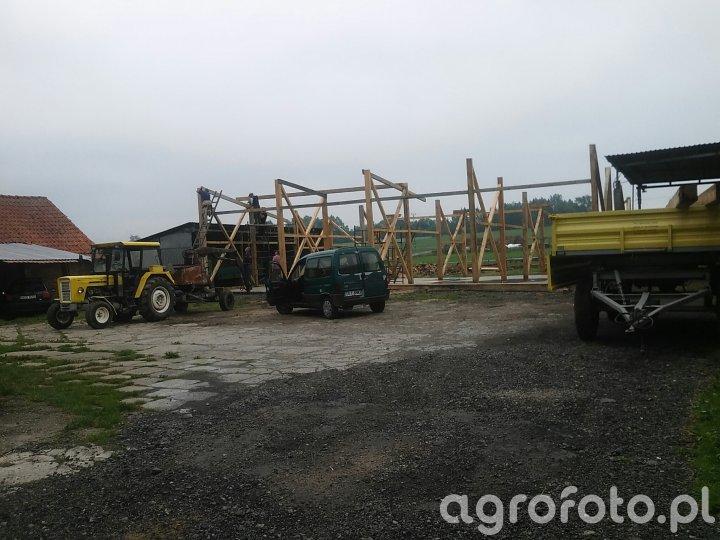 Budowa stodoły