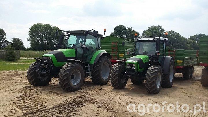 Deutz-Fahr Agrotron K420 & Deutz-Fahr Agrofarm 85