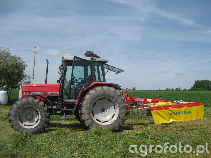 Massey ferguson 6150 & Pottinger EUROTOP 380N