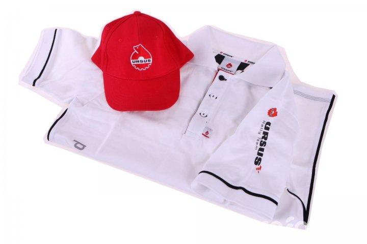 Duet - koszulka polo Ursus Rally Team i czapka...