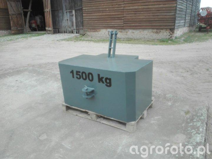 Obciążnik 1500 kg