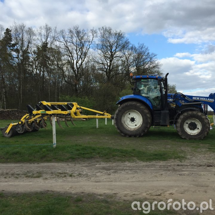 New Holland T7.170 & Bednar FENIX FN_RT