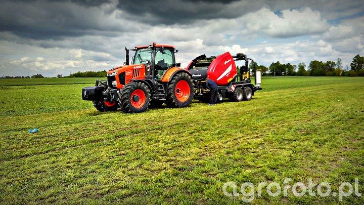 Kubota Tractor Show - pokazy zielonkowe
