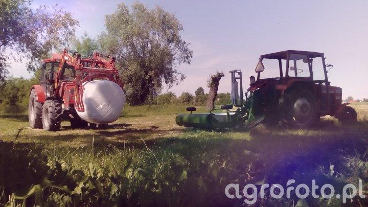 Farmer 9258Te i Mf 255 i Sipma Tekla