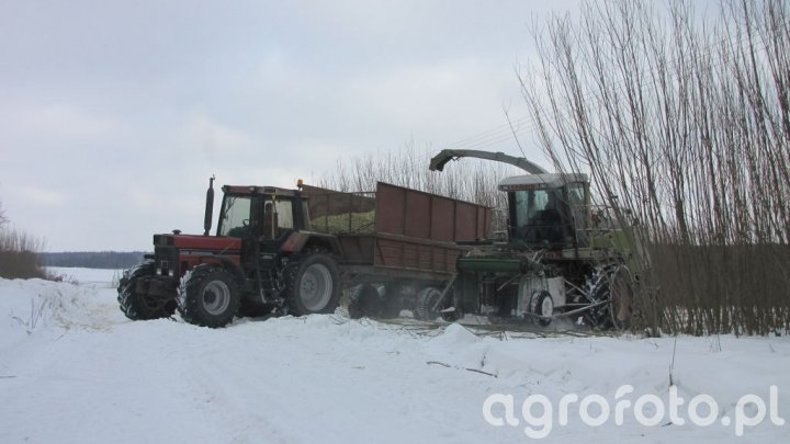 Claas Jaguar & Case 1255xl