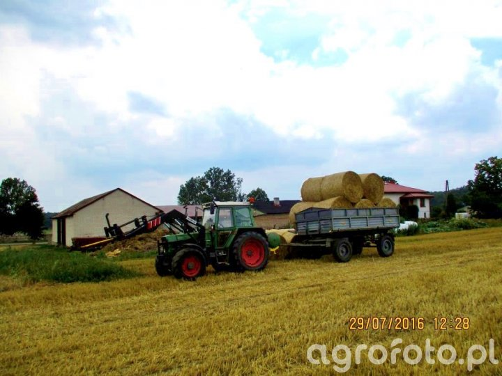 Fendt Farmer 306 LSA i Mailleux + obciążnik + D-47