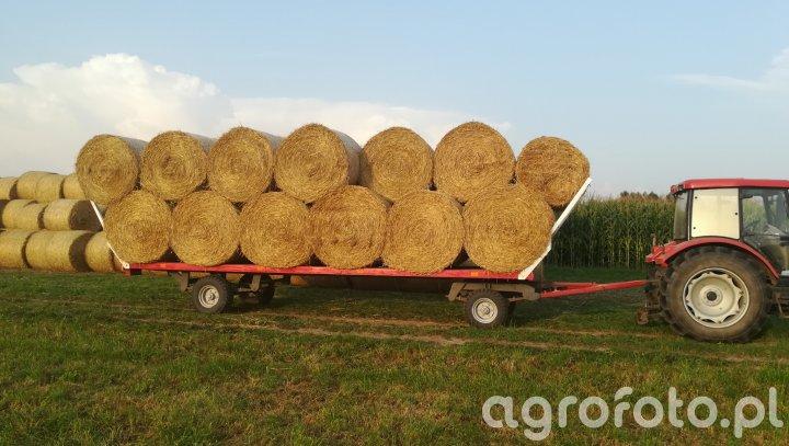 Farmer 9258 TE + laweta do bel
