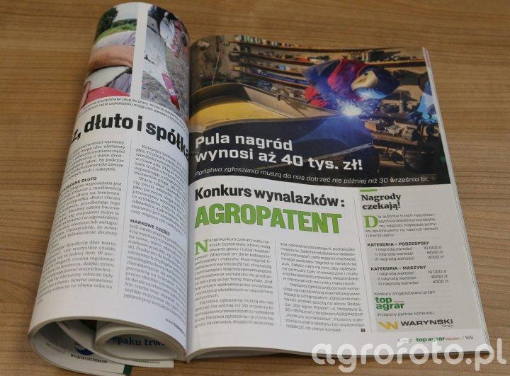 Rolniczy konkurs wynalazków Agropatent