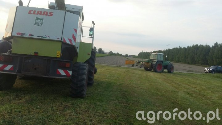 Claas jaguar 860 + fendt 312 LSA