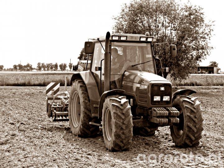 Massey Ferguson 6270 & Guttler