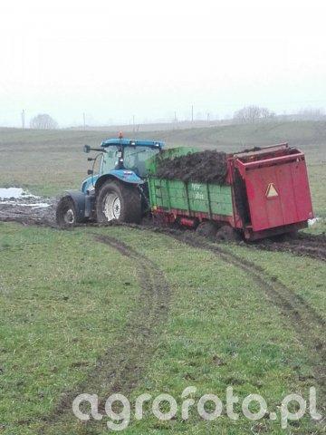 New Holland T6050 unia 6plus