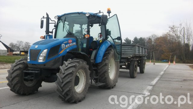 New Holland T 4.75 & Autosan D47