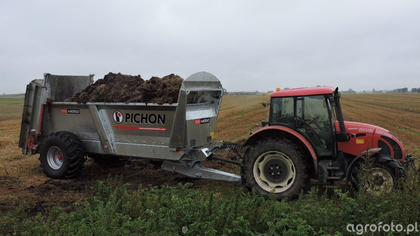 Pichon MuckMaster 1350 + Zetor Forterra