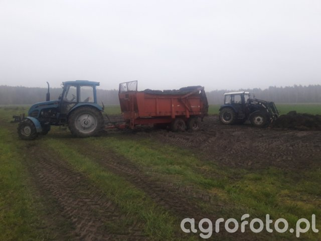 Pronar 82A+Gilibert 10T + Farmtrac 675DT