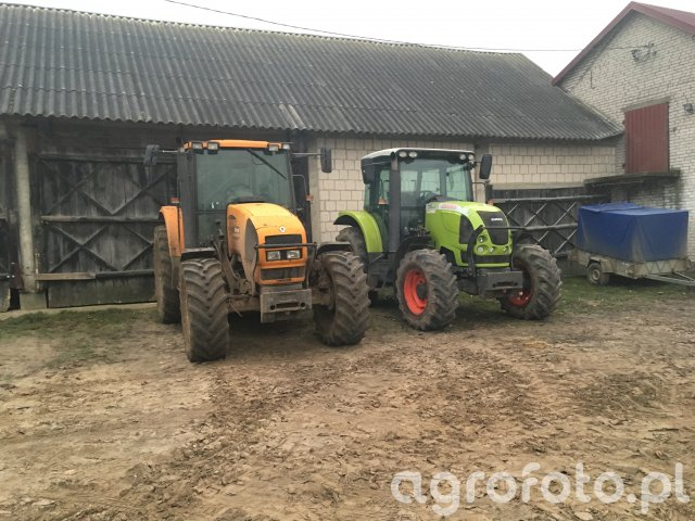 Renault Ares 616RZ, Claas Ares 547 ATX