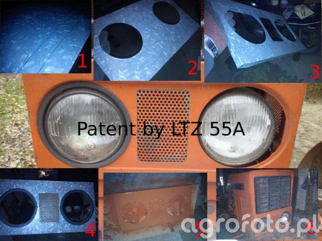 Wspornik lamp przednich MTZ