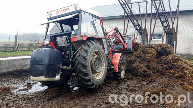 Zetor 7745 & iT1600 + Obciąznik