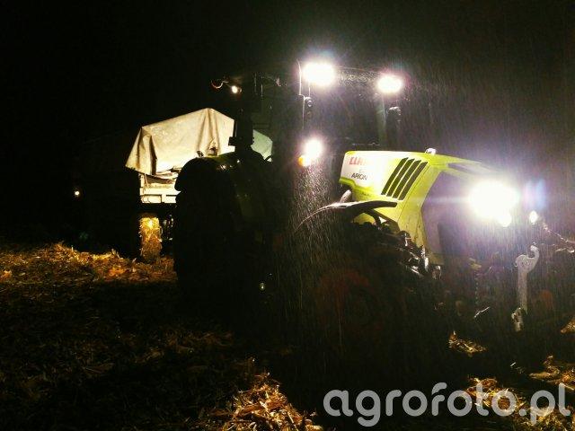 Żniwa kukurydziane 2017