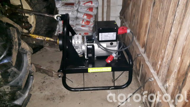 Agregat prądotwórczy AgroVolt