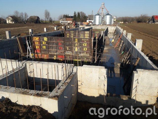 Budowa Obory