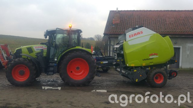 claas arion 450 & claas variant 485 rc