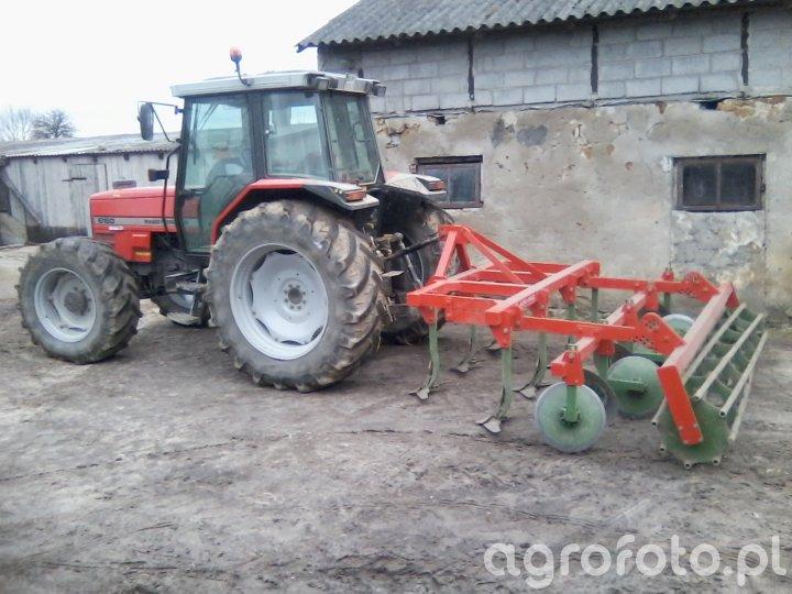 Massey Ferguson 6160 + Agro-Masz