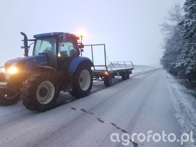 New Holland t6.140 & Pronar to23 m