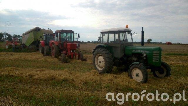 Ursus C-4011 & MTZ 82 & Massey Ferguson 5460