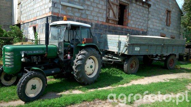 Ursus C-4011 &Welger FK 130