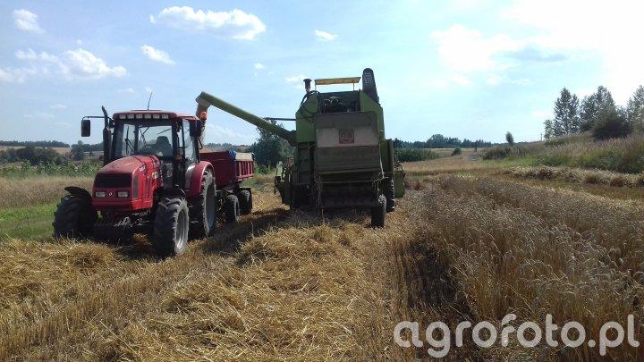 Farmer F-8244 C2+ Autosan & Claas Mercator 60