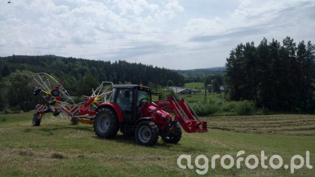 Massey Ferguson 5410 + Pottinger TOP 702C