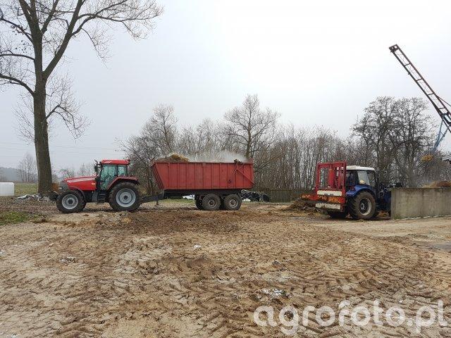 McCorick mtx135 +przyczepa & Farmtrac 685dt
